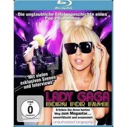 LADY GAGA - Born For Fame , Blu-ray