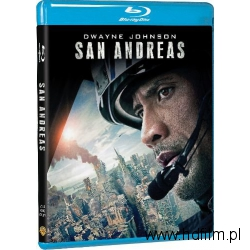 SAN ANDREAS , Blu-ray