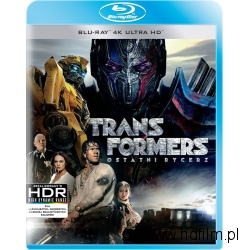 TRANSFORMERS - OSTATNI RYCERZ , Blu-ray 4K ULTRA HD